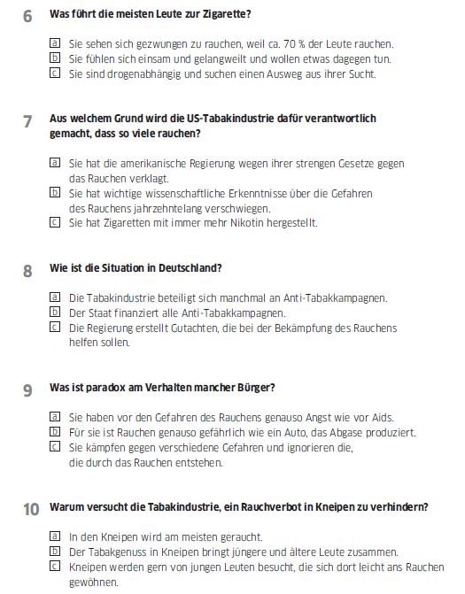 Học tiếng Đức miễn phí với DatTranDeutsch - Bài thi B2 phần nghe 2a