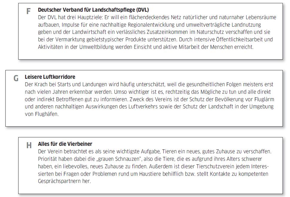 Học tiếng Đức miễn phí với DatTranDeutsch - Bài thi B2 phần đọc 1d