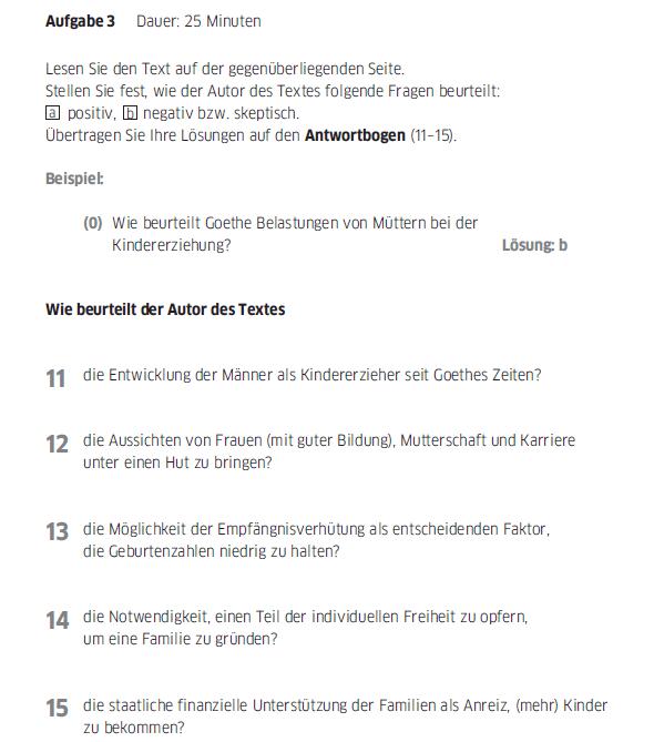 Học tiếng Đức miễn phí với DatTranDeutsch - Bài thi B2 phần đọc 3a