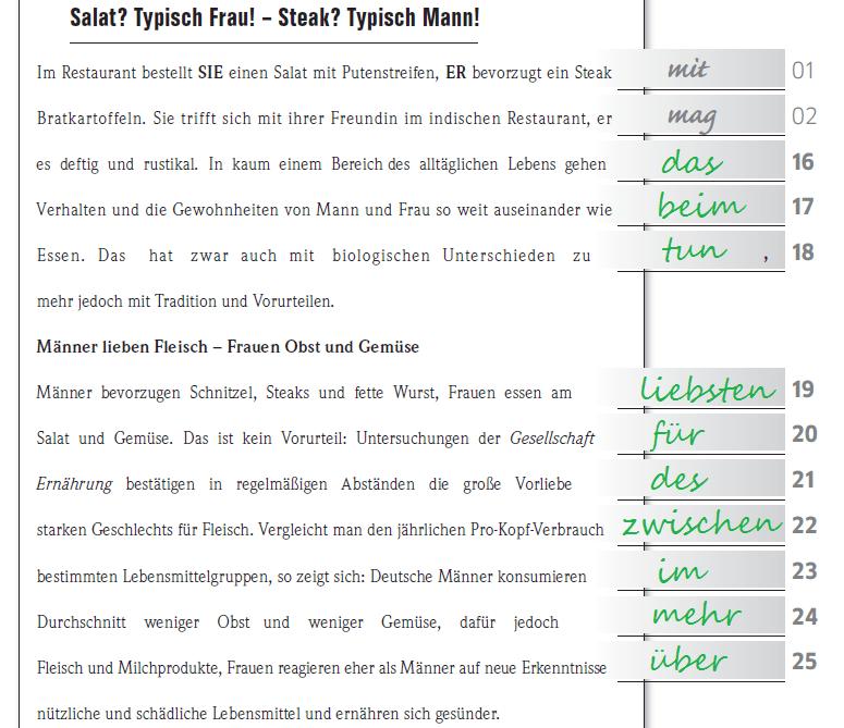 Học tiếng Đức miễn phí với DatTranDeutsch - Bài thi B2 đáp án phần đọc 4